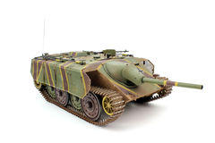A scale model of the tank E-10 Stock Photo