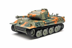 Scale model  tank Stock Images