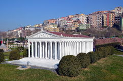 Scale model of Temple of Artemis Royalty Free Stock Photos