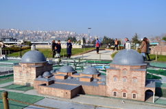 Scale model of a Turkish bath or hamam Stock Photography