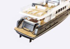 Scale model yachts Stock Image