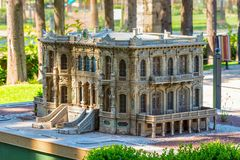 Free Scale Models Of Historic Buildings At Minicity Culture Park In Antalya, Turkey Stock Photography - 151525812