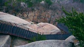 Scale nelle montagne Immagini Stock Libere da Diritti