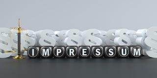 Free Scale Paragraphs Impressum Stock Photos - 148855463