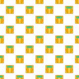 Scale pattern, cartoon style Royalty Free Stock Images