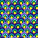 Scale pattern Royalty Free Stock Images