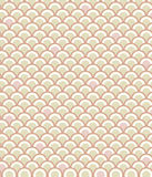 Scale Pattern in Pink. Classic fish scale pattern in a subdued palette of pink and tan Stock Photos