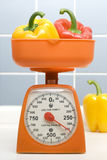 Scale And Pepper. On Closeup Royalty Free Stock Photography