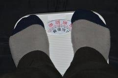 Scale per la pesatura della persona Fotografia Stock Libera da Diritti