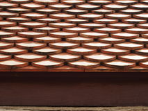 Scale Roof Tiles Stock Photo