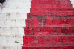 Scale rosse lunghe Immagine Stock Libera da Diritti