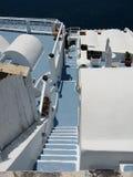 Scale in Santorini Immagini Stock Libere da Diritti