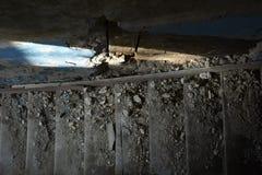 scale Scala vecchia Fotografie Stock Libere da Diritti