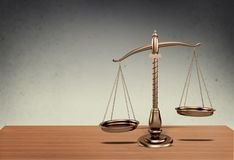 Scale. Lawyer attorneys legal courtroom weigh background royalty free stock images