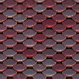 Scale. Seamless fish scale background close up Stock Photo
