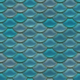 Scale. Seamless fish scale background close up Stock Images