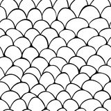 Scale seamless pattern Stock Photography