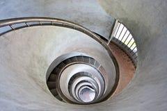 Scale a spirale Fotografie Stock