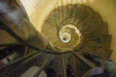Scale a spirale Fotografia Stock Libera da Diritti
