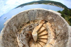 Scale a spirale Immagine Stock