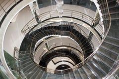 Scale a spirale di bobina Fotografia Stock