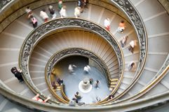 Scale a spirale a vatican Immagine Stock