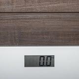 Scale sul pavimento di legno Fotografia Stock