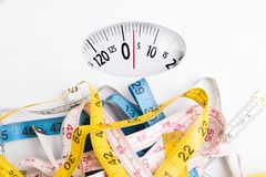 Diet and healthy life royalty free stock image