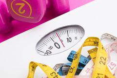 Diet and healthy life stock photography
