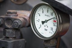 Scale to Measure Pressure Stock Photo