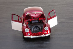Scale toy model VW Volkswagen Beetle Royalty Free Stock Photography