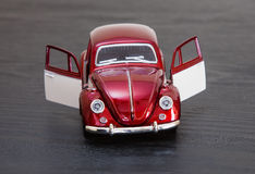 Scale toy model VW Volkswagen Beetle Royalty Free Stock Photos