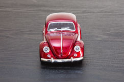Scale toy model VW Volkswagen Beetle Royalty Free Stock Image