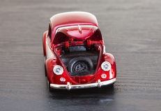 Scale toy model VW Volkswagen Beetle Stock Photography