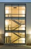 Scale in una costruzione fotografie stock libere da diritti