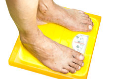 Scale weight Stock Image