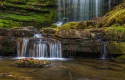 Scalebar Waterfall, Yorkshire Stock Photos