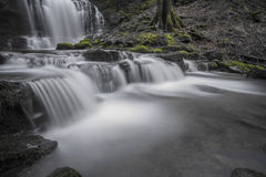 Scaleber Force in Malham. Scaleber Force near Malham in Nidderdale Stock Image