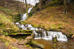 Scaleber Force Waterfall Royalty Free Stock Image