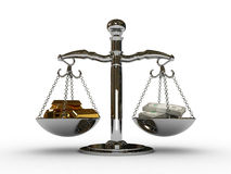 Scales Royalty Free Stock Images