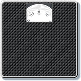 Scales. Bathroom scales for vector dieters Royalty Free Stock Photography