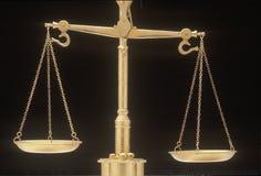 Scales av rättvisa Royaltyfri Fotografi