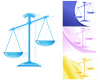 Scales different colors Stock Image