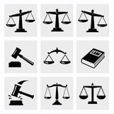 Scales icon. This is file of EPS10 format Royalty Free Stock Images