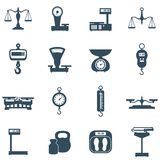 Scales icon set Royalty Free Stock Photography