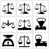 Scales icon Royalty Free Stock Images