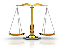Scales justice Stock Image