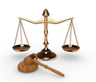 Scales justice Stock Images