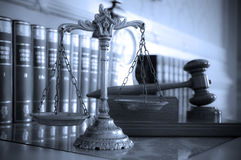 Scales of Justice royalty free stock photos