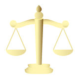 Scales of Justice Stock Image
